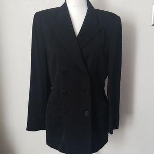 Ellen Tracy double breasted blazer jacket